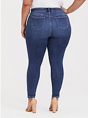 Bombshell Skinny Jean - Comfort Stretch Medium Wash, COOL BREEZE, alternate