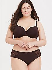 Raisin Brown 360° Back Smoothing™ Lightly Lined Full Coverage Bra, CHOCOLATE RAISIN BROWN, alternate