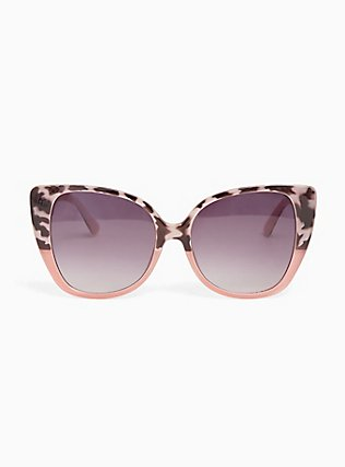 Blush Cat Eye Sunglasses, , hi-res