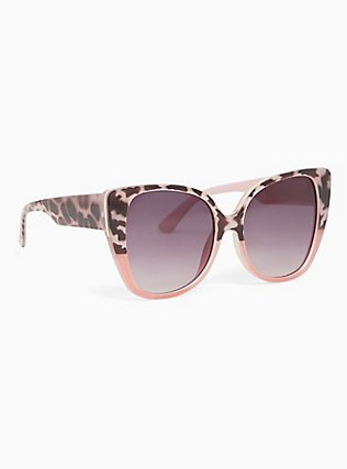 Blush Cat Eye Sunglasses, , ls