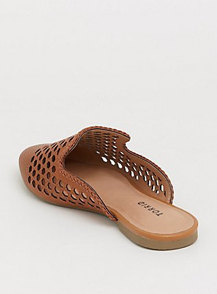 Cognac Woven Slip-On Mule (WW), COGNAC, alternate