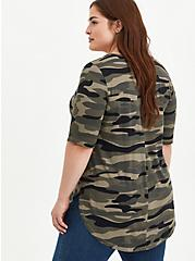 Favorite Tunic - Super Soft Camo , BRUSHED CAMO, alternate