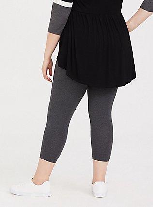 Capri Premium Legging - Heathered Dark Grey, GRAY HTR, alternate