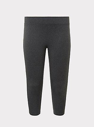 Capri Premium Legging - Heathered Dark Grey, GRAY HTR, flat