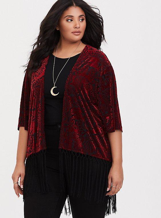 Her Universe Jafar Fringe Kimono, , hi-res