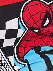 Marvel Spider-Man Black Cotton Boyshort Panty, MULTI, alternate