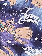 Plus Size Guardians of the Galaxy  Groot Cotton Boyshort Panty, MULTI, alternate
