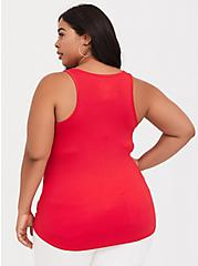 Super Soft Ruby Red Scoop Neck Layering Tank, RUBY TUESDAY, alternate
