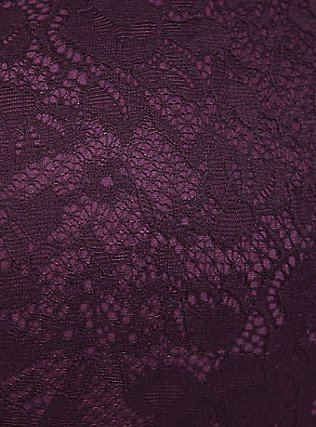 Purple Lace 360°  Back Smoothing™ Lightly Lined Everyday Wire-Free Bra, GRAPE SEED, alternate
