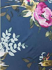 Teal Floral 360° Back Smoothing™ Lightly Lined T-Shirt Bra, BLUE FLORAL, alternate