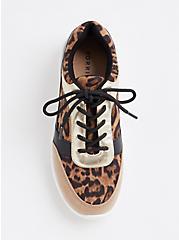 Leopard & Metallic Faux Leather Sneaker (WW), ANIMAL, alternate
