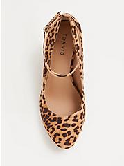 Leopard Faux Suede Cone Pump (WW), ANIMAL, alternate