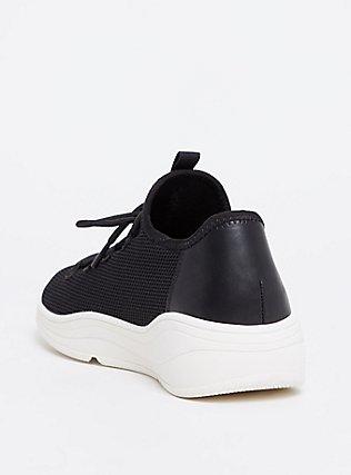 Plus Size Black Mesh Sneaker (WW), BLACK, alternate