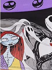 Disney The Nightmare Before Christmas Black Cotton Boyshort Panty, MULTI, alternate