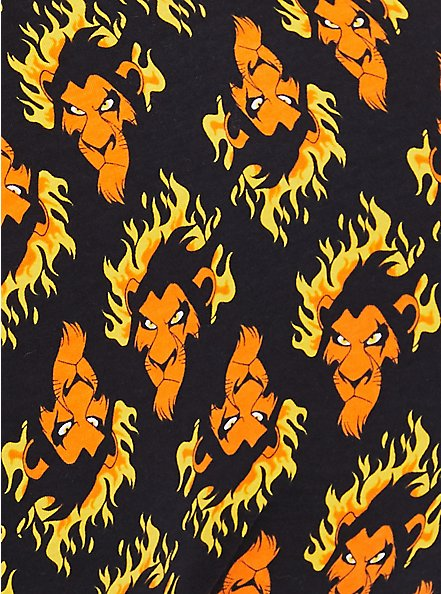 Disney The Lion King Scar Cotton Hipster Panty, MULTI, alternate