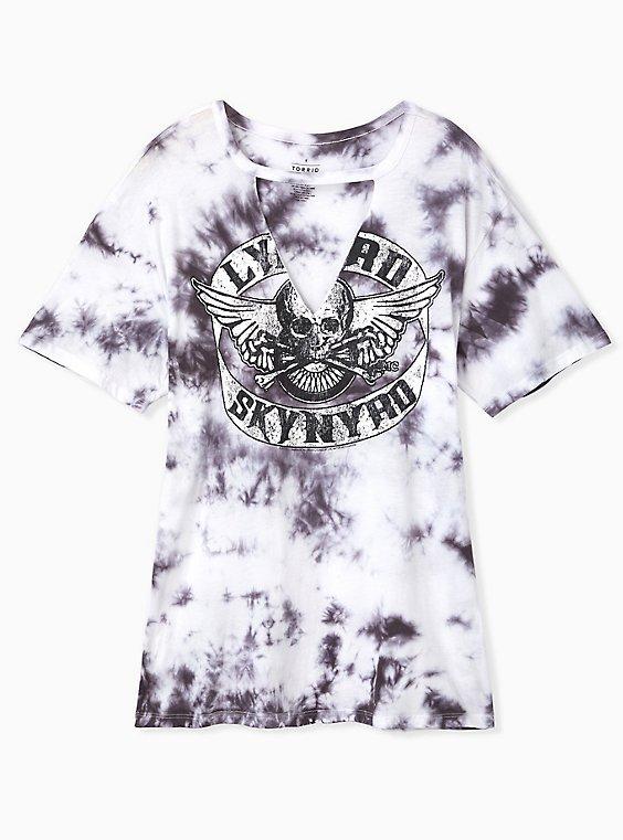 Lynyrd Skynyrd Tie-Dye Choker Tee, , hi-res