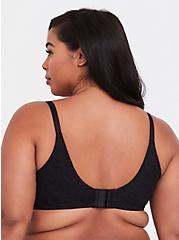 Black Lace 360° Back Smoothing™ Lightly Lined Everyday Wire-Free Bra, RICH BLACK, alternate