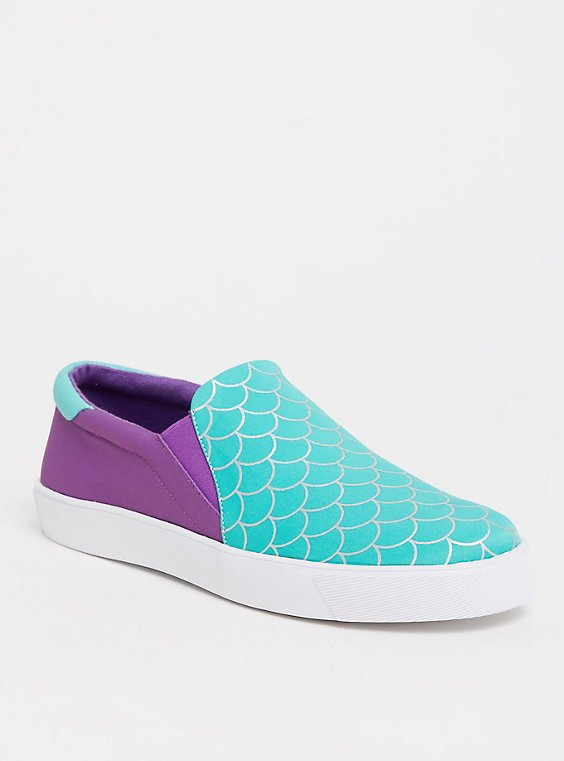 Disney The Little Mermaid Ariel Slip-On Sneaker (WW), , hi-res