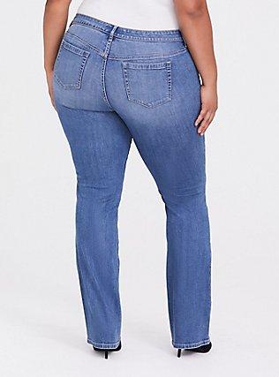Slim Boot Jean - Vintage Stretch Light Wash, SOUTHERN BLUES, alternate