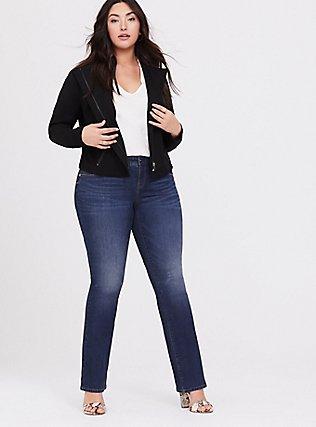 Slim Boot Jean - Vintage Stretch Dark Wash, EQUINOX, alternate