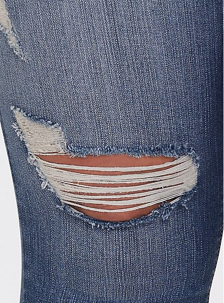 Sky High Skinny Jean - Premium Stretch Medium Wash, HEARTTHROB, alternate