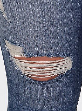 Plus Size Sky High Skinny Jean - Premium Stretch Medium Wash, HEARTTHROB, alternate