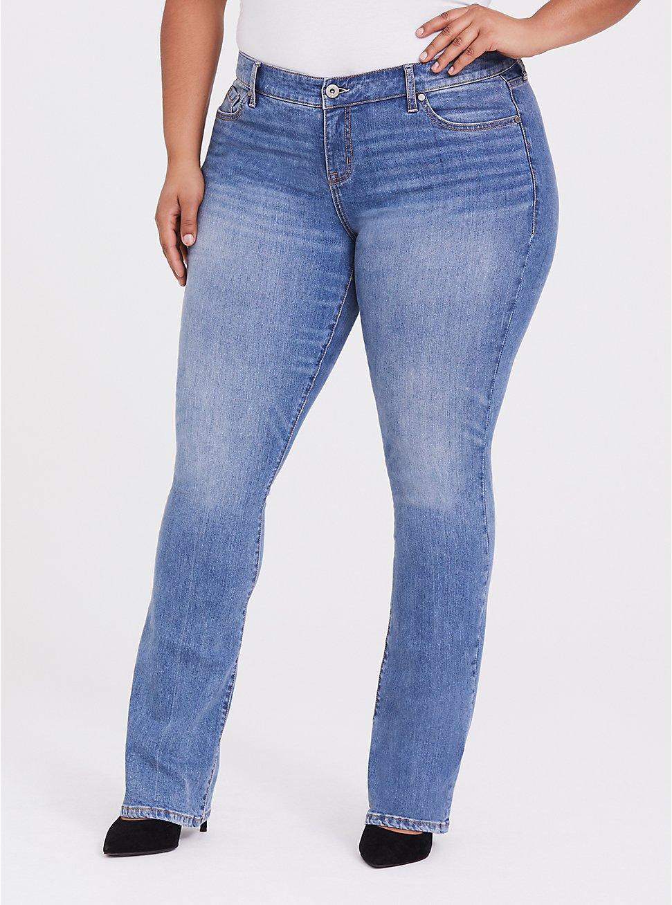 Slim Boot Jean - Vintage Stretch Light Wash, MONTECITO, hi-res