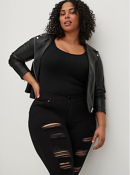Bombshell Skinny Jean - Premium Stretch Black, BLACK, alternate