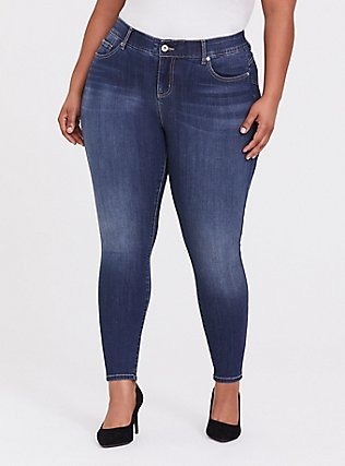 Bombshell Skinny Jean - Premium Stretch Dark Wash, EMERSON, hi-res