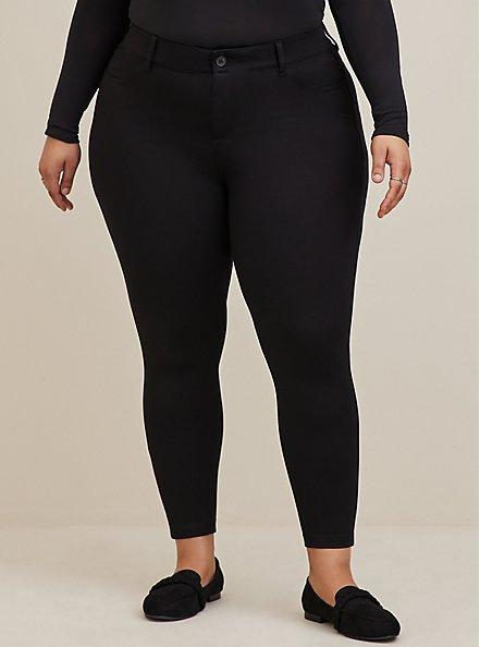 Bombshell Skinny Pant - Premium Ponte Black, DEEP BLACK, alternate