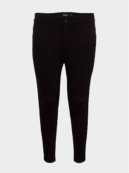 Bombshell Skinny Pant - Premium Ponte Black, DEEP BLACK, hi-res