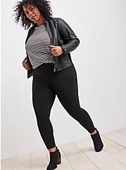Plus Size Bombshell Skinny Pant - Premium Ponte Black, DEEP BLACK, hi-res