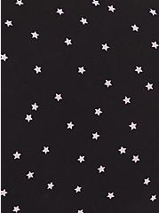 Torrid Logo Black & Pink Star Cotton Cheeky Panty, STARS-BLACK, alternate