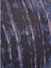 Torrid Logo Purple Tie-Dye Cotton Boyshort Panty, TIE DYE-BLACK, alternate