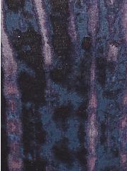Torrid Logo Tie-Dye Cotton Thong Panty, TIE DYE-BLACK, alternate
