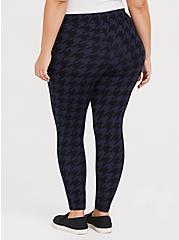 Premium Legging - Houndstooth Navy & Black , HOUNDSTOOTH PLAID, alternate