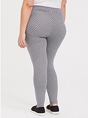Premium Legging - Polka Dot Grey, MULTI, alternate