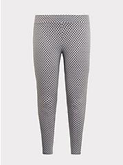 Premium Legging - Polka Dot Grey, MULTI, hi-res