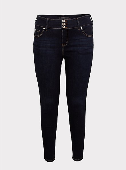 Plus Size Jegging - Super Soft Dark Wash, BESPOKE, hi-res