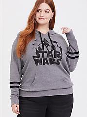 Her Universe Star Wars Grey Character Hoodie, HEATHER GREY, hi-res