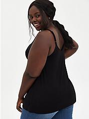 Super Soft Black Swing Cami, DEEP BLACK, alternate