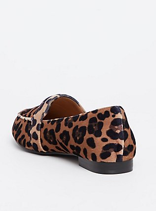 Leopard Velvet Loafer (WW), ANIMAL, alternate