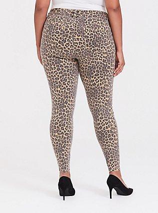 Jegging - Super Stretch Leopard, LEOPARD, alternate