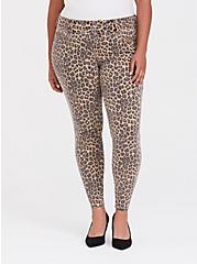 Jegging - Super Stretch Leopard, LEOPARD, hi-res