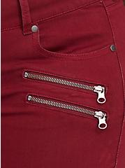 Plus Size Jegging - Super Stretch Dark Red, RED, alternate