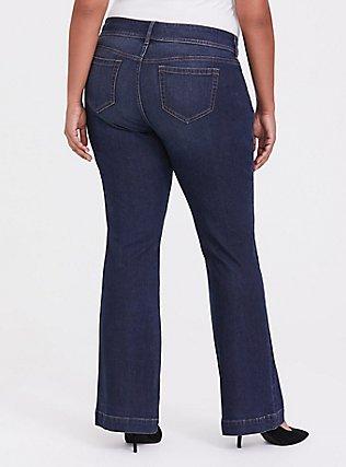 Flare Jean - Vintage Stretch Dark Wash, BLINDSIDE, alternate