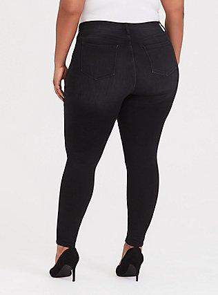 Sky High Skinny Jean - Premium Stretch Washed Black, COOL CAT, alternate