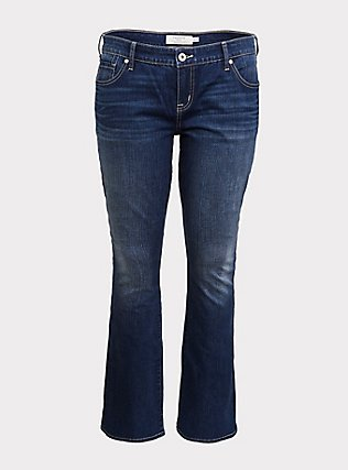 Slim Boot Jean - Vintage Stretch Medium Wash, BACK COUNTRY, flat