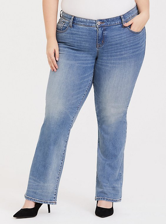 Relaxed Boot Jean - Vintage Stretch Light Wash, , hi-res