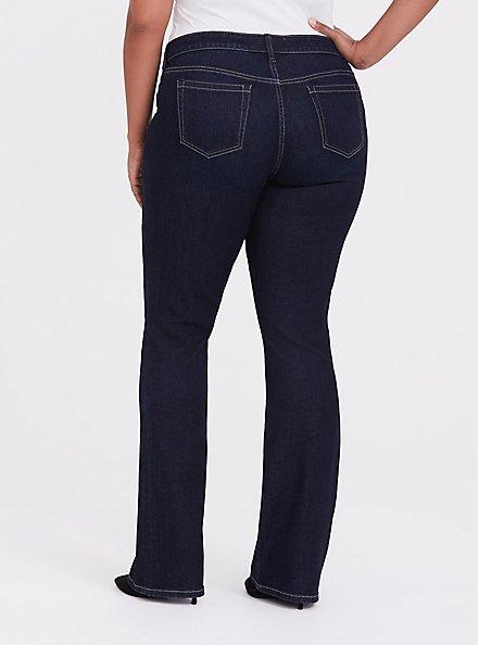 Slim Boot Jean - Vintage Stretch Dark Wash, MOONLIT, alternate